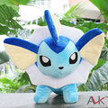 33cm Pocket Monster Plush toys Pokemon Vaporeon Plush dolls Children s toys boys girl Christmas gifts