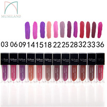 1Pcs 2015 New Make Up 12 colors Lip Gloss long-Lasting Lipstick Waterproof Lip Gloss Makeup #q2501