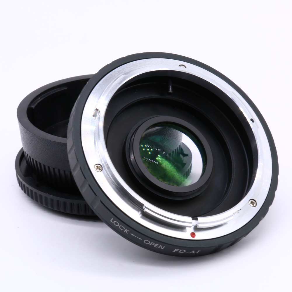 FD AI Lens Ring Adapter for Macro Canon FD Lens to for Nikon