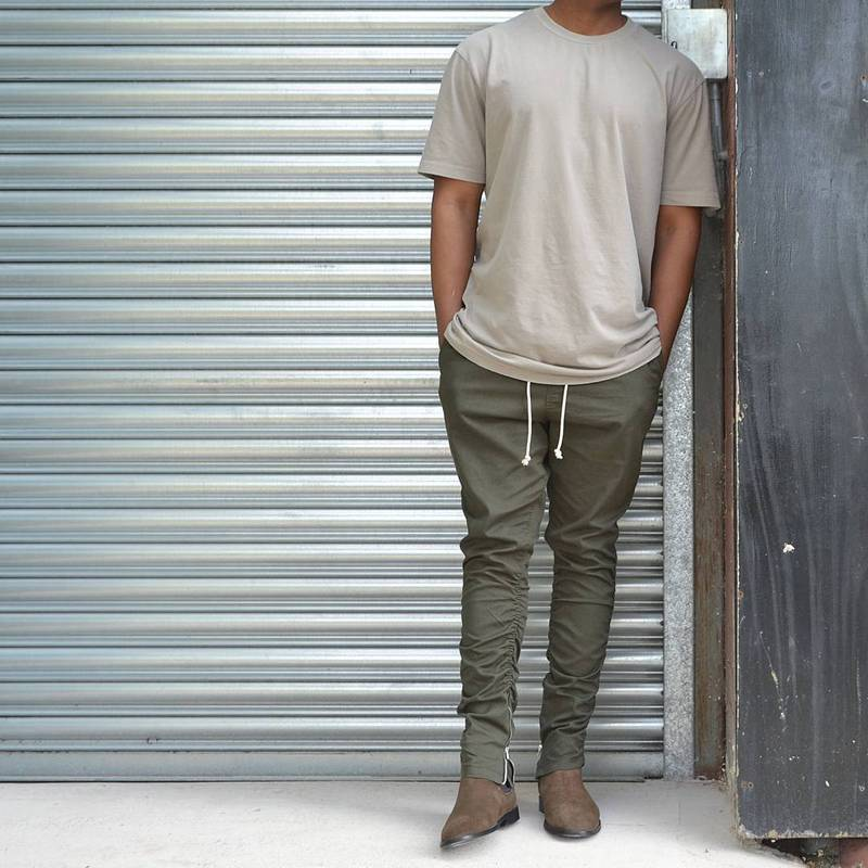 2019 Wholesale Khaki Black Green Korean Hip Hop Fashion Pants With