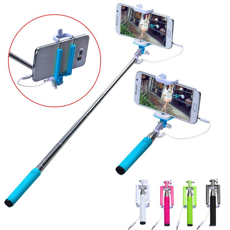 Handheld Extendable Self Portrait Selfie Monopod Stick: Hot Sale Selfie Sticks Gifts 15 50cm Handheld Extendable