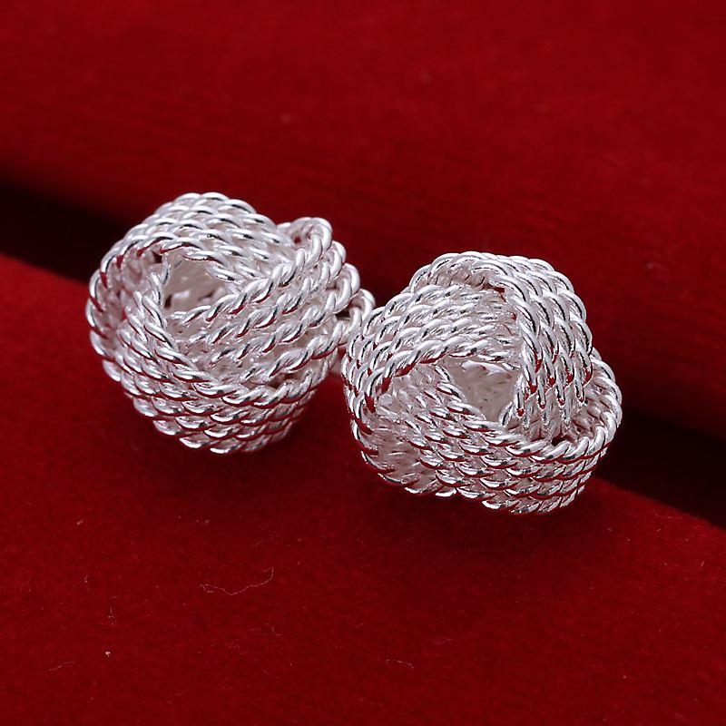 9904ae88b Elegantné dámske náušnice z Aliexpress. Free Shipping summer style silver  earrings for women Fashion Tennis stud ear cuff Wholesale