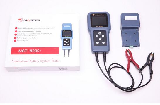 12 В или 24 В MST-8000 + батарея цифровой анализатор тестер с нет принтера детектор автомобилей диагностический инструмент
