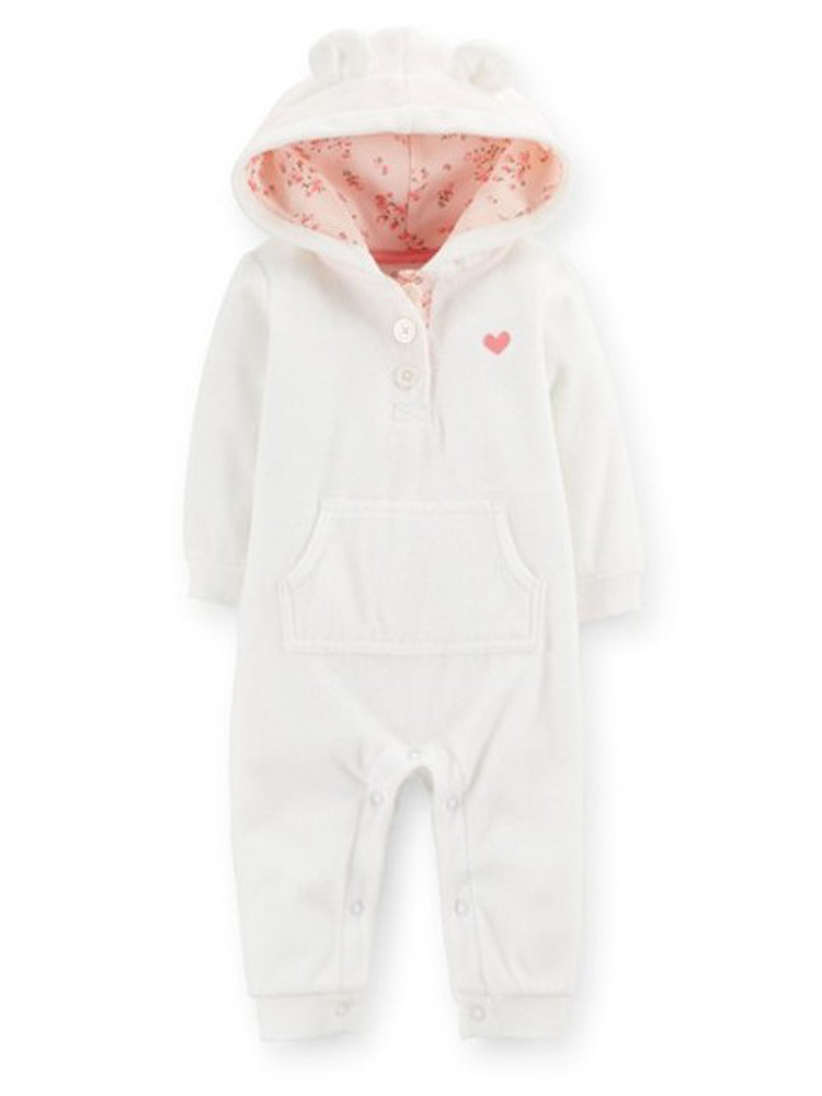 bebe baby clothing fleece Jumpsuit Babies Rompers Newborn Infant Boutique Romper ropa bebe baby clothes