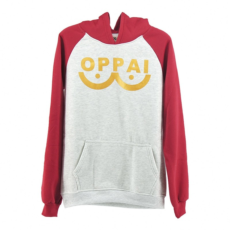 One Punch man Saitama Oppai hoodie Hooded Sweatershirt (5)