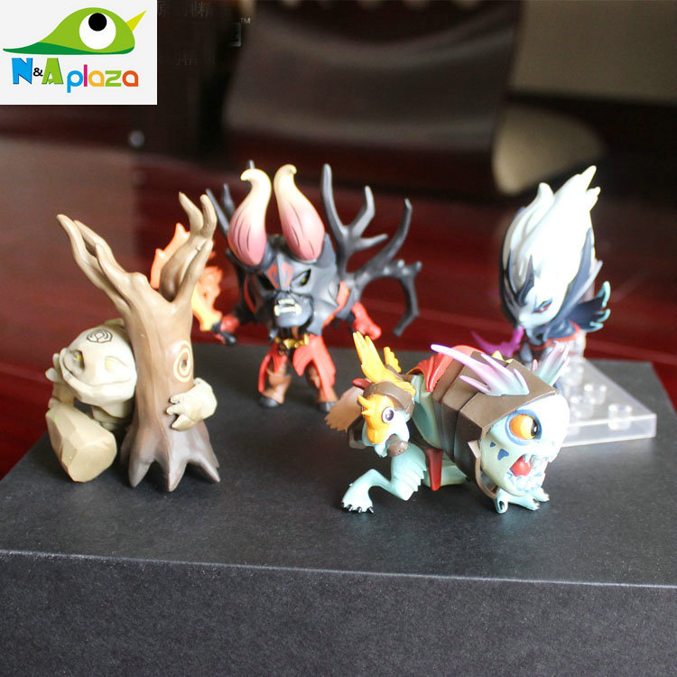 2015 New Anime WOW DOTA 2 Figure SLARDAR Slark Tiny