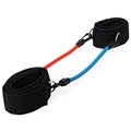 Ankle Straps Adjustable Leg Strength Resistance Kinetic Tube Bands Training Workout Fitness for Kick Boxing