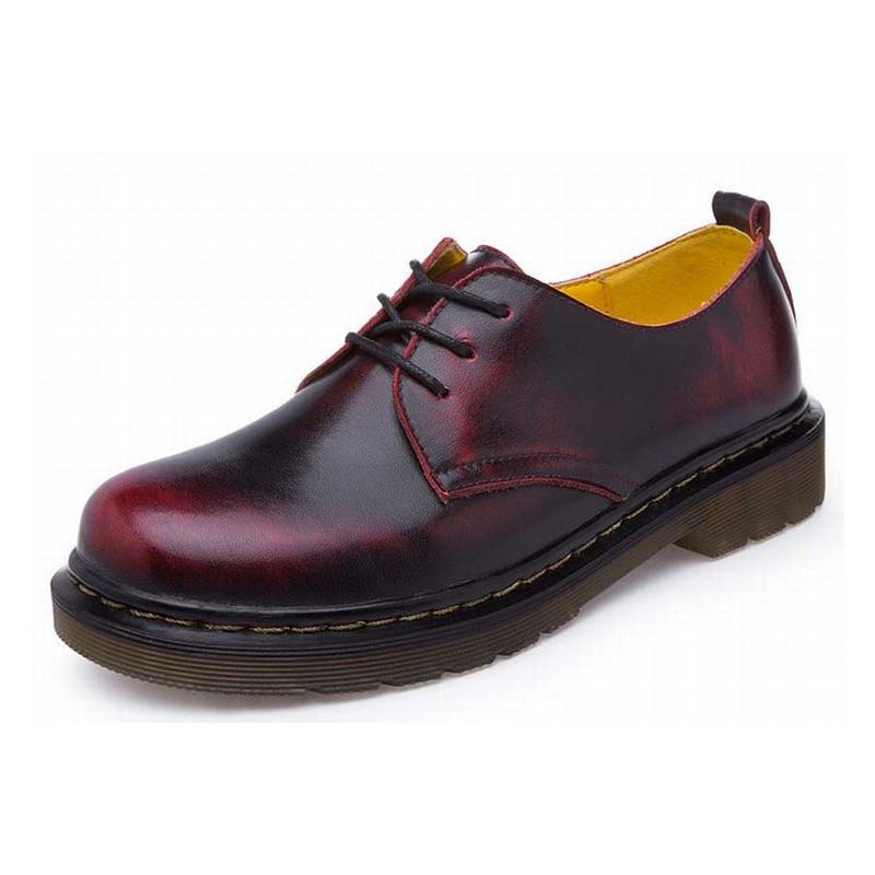 Women S Leather Oxford Shoes Size