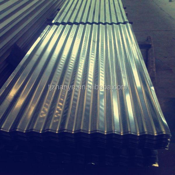 120gr rivestito di zinco 2014 caldo di vendita zincato lamiera grecata per coperture Commercio all'ingrosso, produttore, produzione