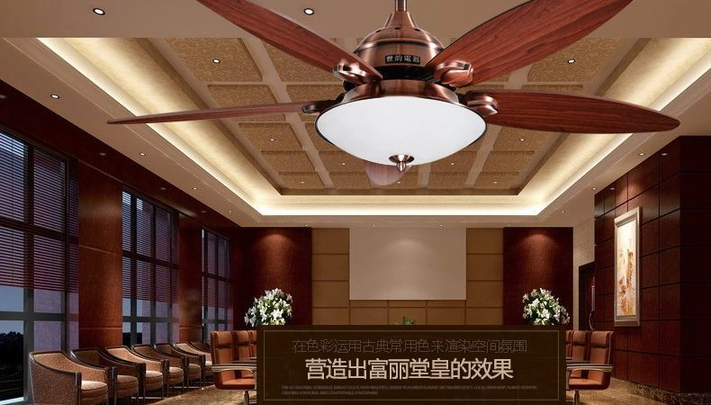 52inch Fan Lights Fashionable Luxury Dining Room Living