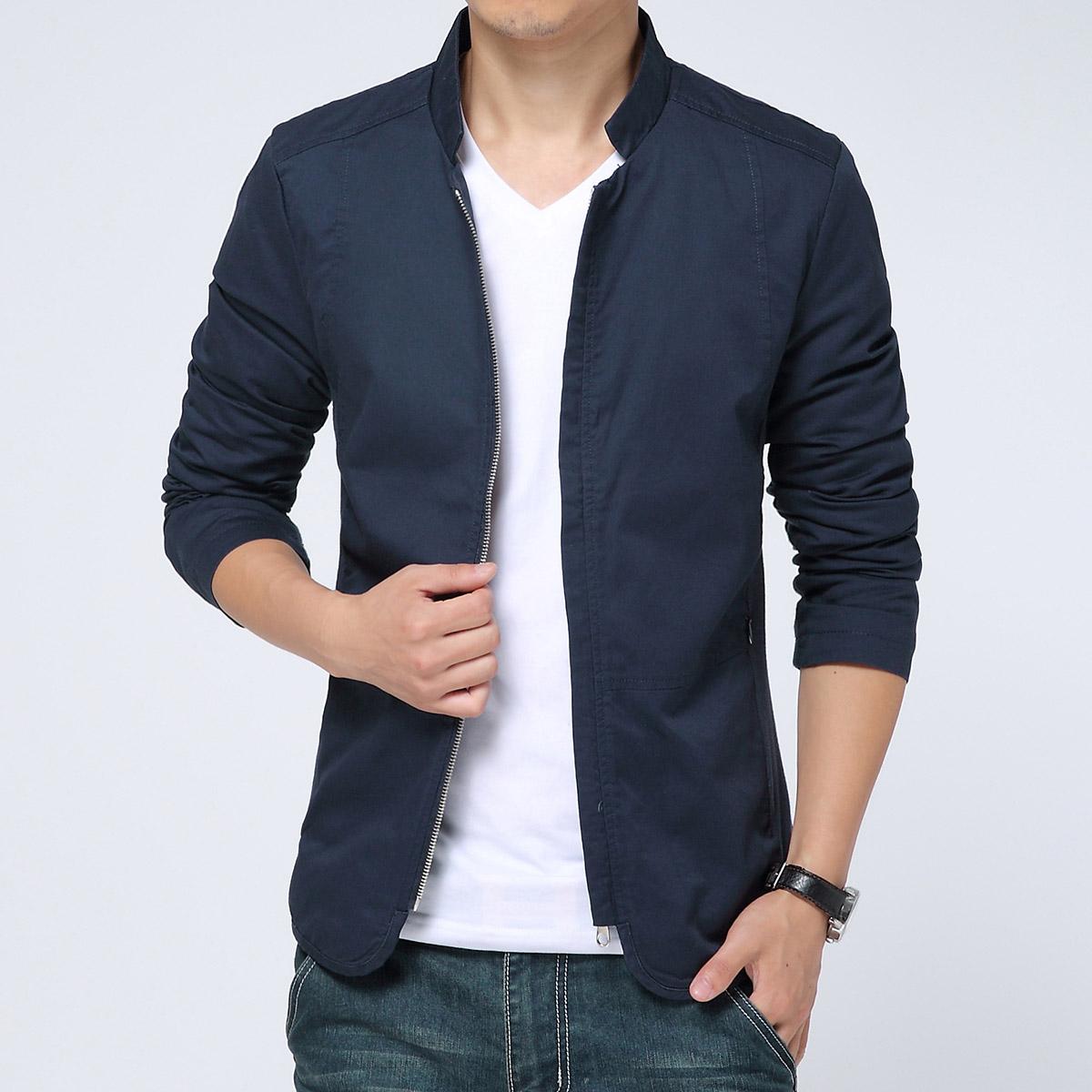 2015 new spring autumn chaqueta hombre men coat mens. Black Bedroom Furniture Sets. Home Design Ideas