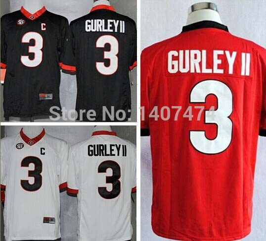 f52d610e0ee ... Shirt - Red Exclusive High Discount Sales2014-15 Stitched Georgia  Bulldogs 3 Todd Gurley II White ...