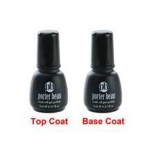 8ml Best price 1 x No Wipe Top coat Primer Base Coat UV Gel Soak Off