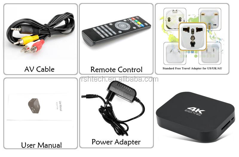 Allwinner H3 Android tv box with 1GB RAM /8GB flash ,preinstall