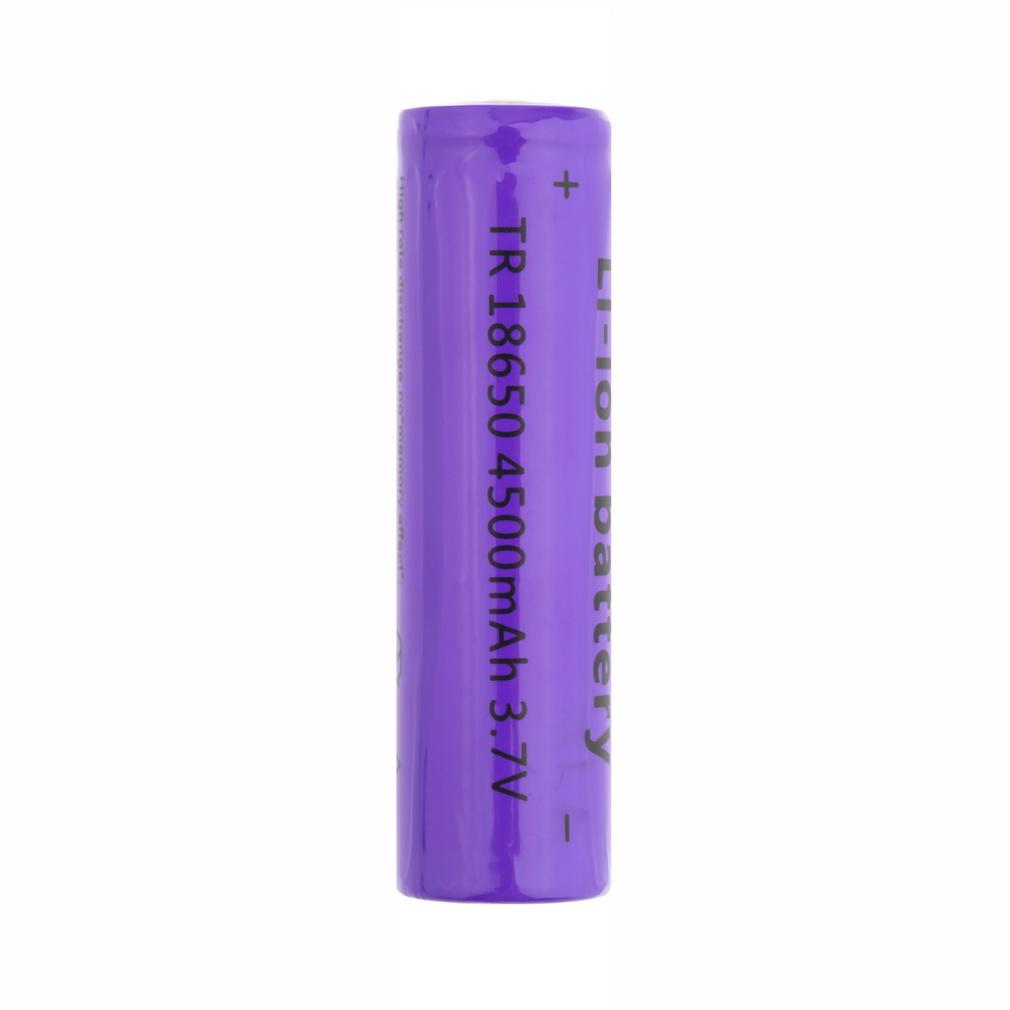 3 7V AKKU 4500mAh 18650 Rechargeable LI-ION Battery For UltraFire  Flashlight Promotion