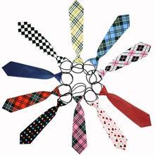 fashion 10 Styles School Boys Girls Children Kids Elastic Necktie Wedding Dress Tie accessories gravatas EQ5404