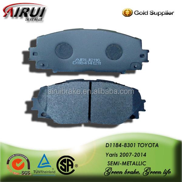 Toyota Yaris Car Brake Pad