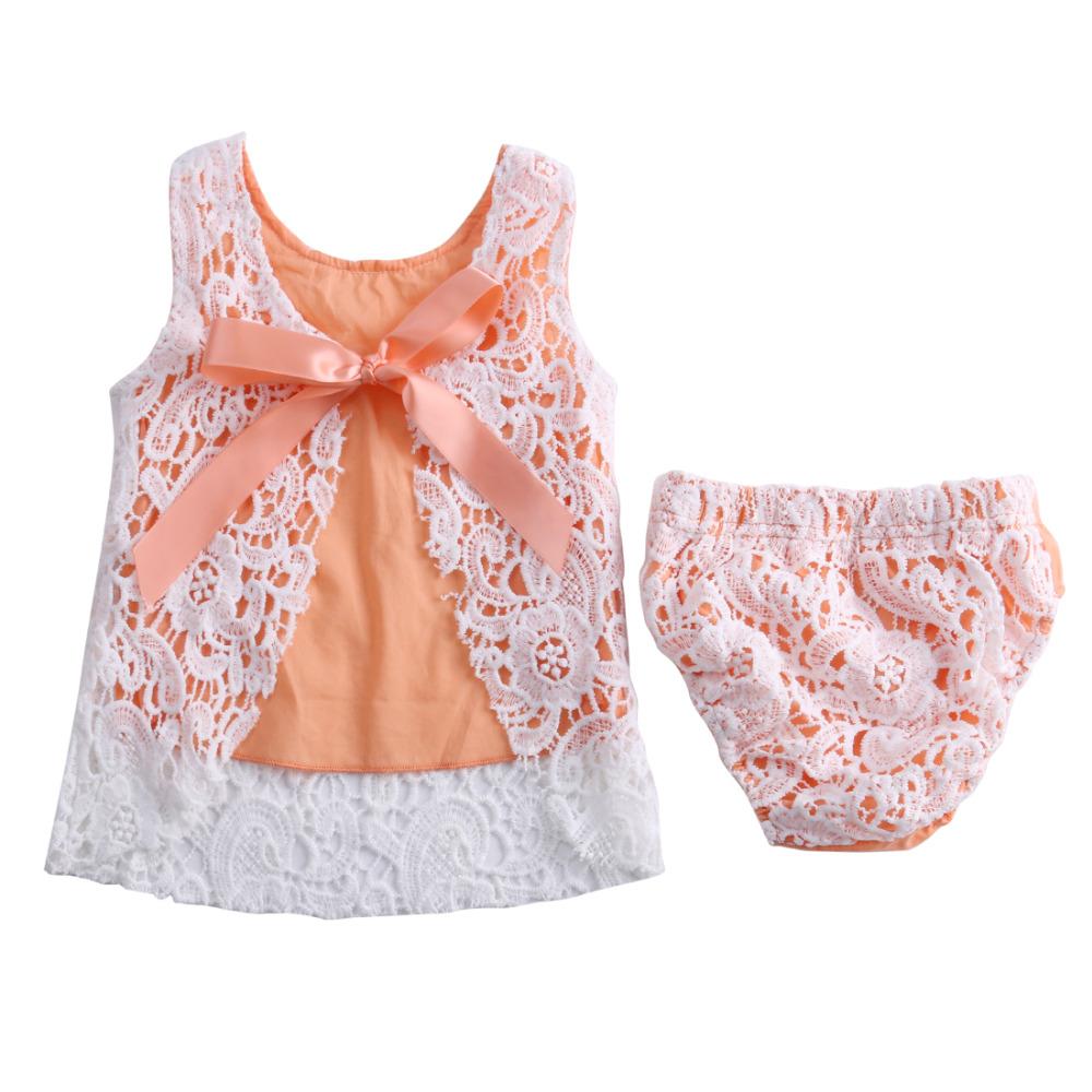 Aliexpress.com : Buy 2016 summer baby girls dress + Briefs ...