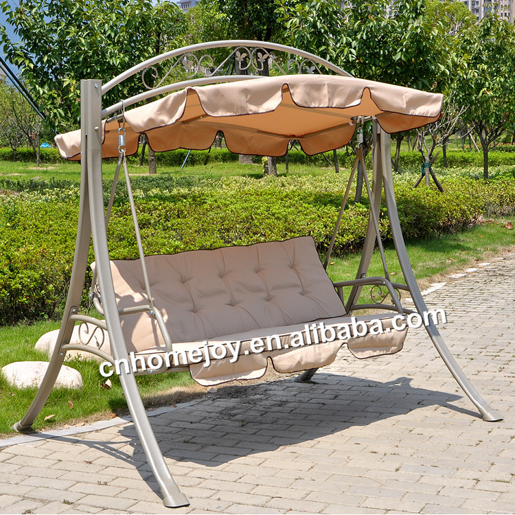 3 Seat Promotional Outdoor Swings,Garden Swing For Adult ...