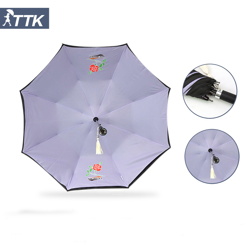 Samurai Umbrella Heart Umbrella Paper Parasol Clear Dome