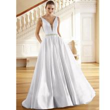 Вечернее платье Suosikki, длинное винтажное платье с треугольным вырезом и бусинами, платье для выпускного бала, платье для свадебной вечеринки...(Китай)
