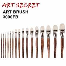 Artsecret High Quanlity oil painting brush-3000FB series