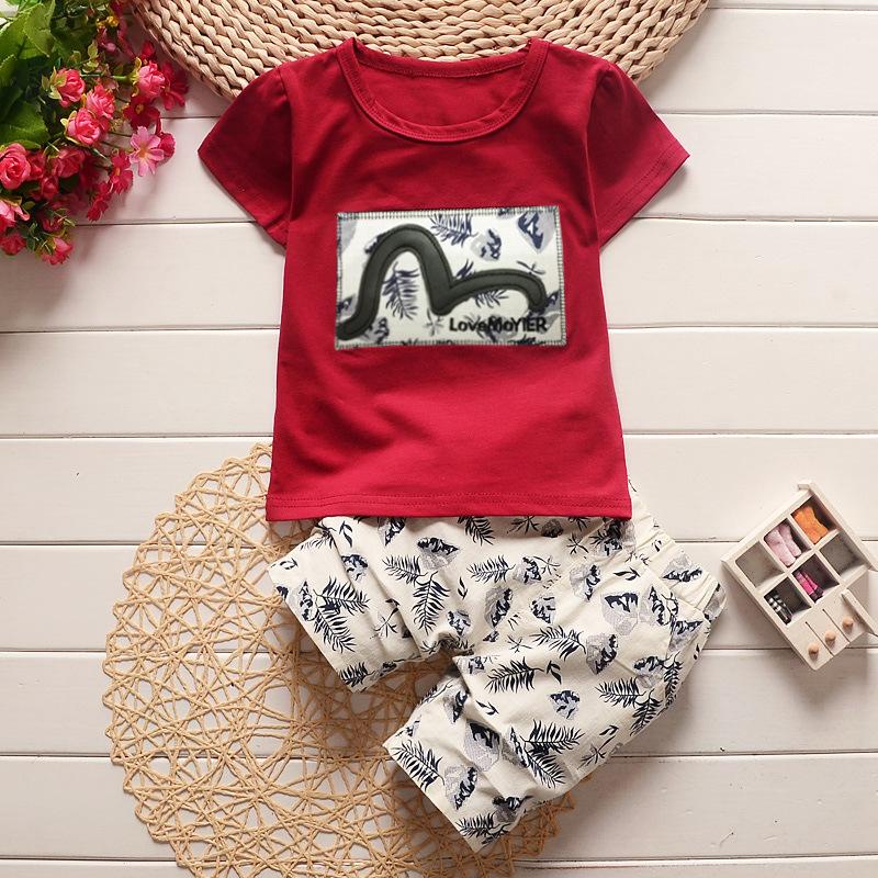 0f3488f6ede13 NYSRFZ High quality children clothing sets baby boys girls t-shirts shorts  pants sports suit children clothes Cotton vest shorts