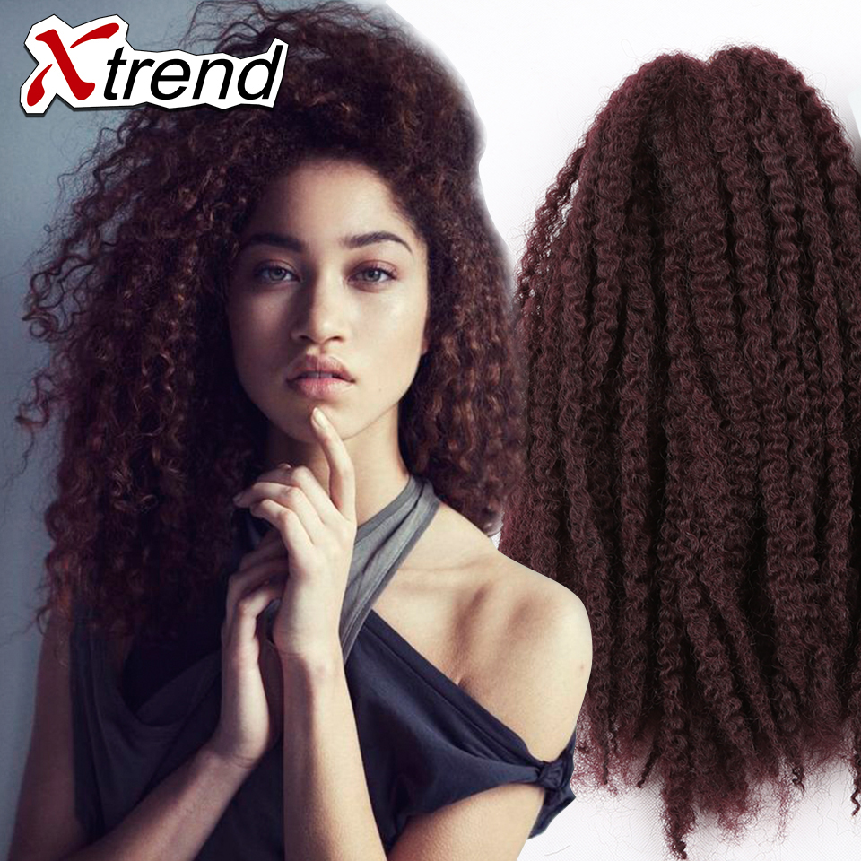 hot sale 18inch 100g afro kinky twist hair crochet braids muliti color marley senegalese twist. Black Bedroom Furniture Sets. Home Design Ideas