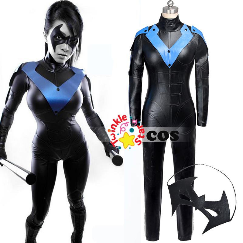 Popular Nightwing Costume Women-Buy Cheap Nightwing ...