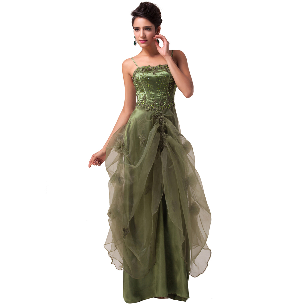 Most Beautiful Prom Dresses Ball Gown: The Most Beautiful Women Long Ball Formal Evening Dress