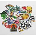 NEW 500 Pcs Stickers Mix Style Funny Cartoon Decal Fridge Doodle Snowboard Luggage Decor Jdm Brand