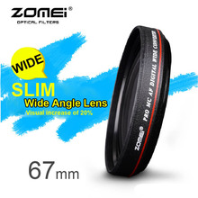ZOMEI Ultra Slim 67mm 0.45x Wide Angle Filter Lens for Nikon Camera