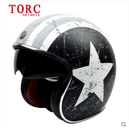 torc t57 retro vintage motorcycle helmets casque moto capacete motocicleta casco de motocicleta. Black Bedroom Furniture Sets. Home Design Ideas