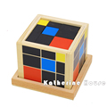 Baby Toy Montessori Trinomial Cube Math Early Childhood Educational Preschool Training Learning Toys Birthday Gift
