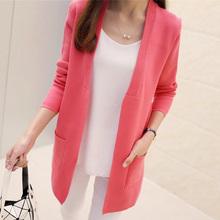 Elegantní dámský rozepnutý svetr