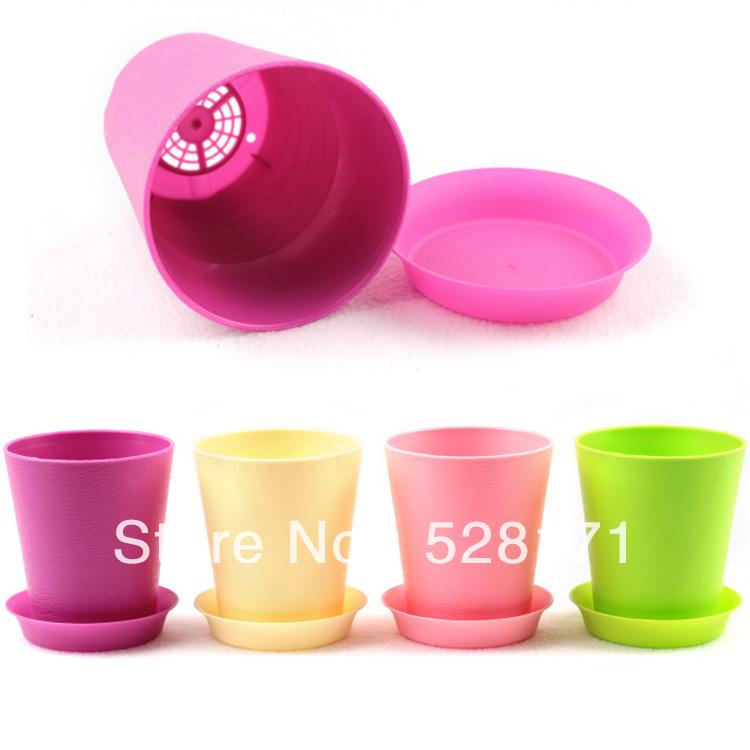 achetez en gros petit en plastique pots de fleurs en ligne. Black Bedroom Furniture Sets. Home Design Ideas