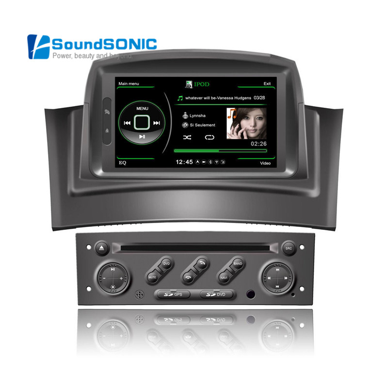 megane 2 car dvd gps navigation navigator radio for. Black Bedroom Furniture Sets. Home Design Ideas