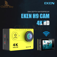 Action camera  EKEN h9 Ultra HD 4k sport camera wifi 1080p waterproof 2.0 LCD helmet cam  video camcorder go extreme pro yi sj