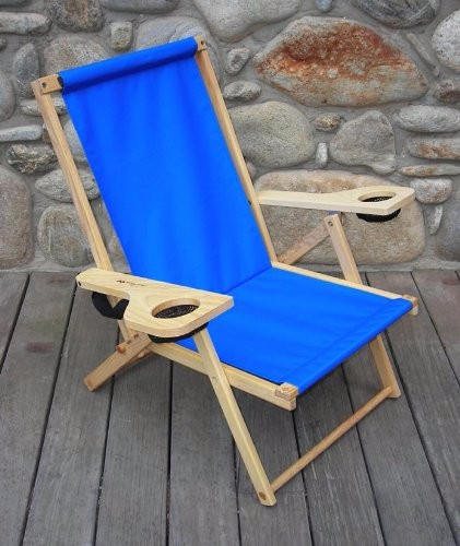 Cheap Wooden Chairs For Sale: Outdoor Furniture Wooden Folding Beach Deck Chair For Sale