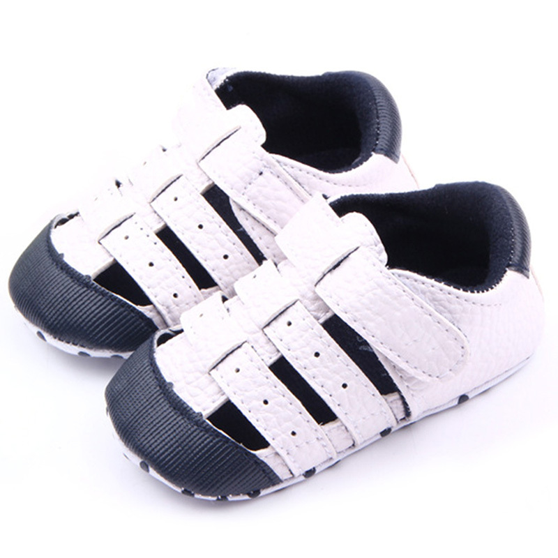 Baby Shoes Boys Girls Outdoors Soft PU Leather Infant First Walker Toddler Shoes