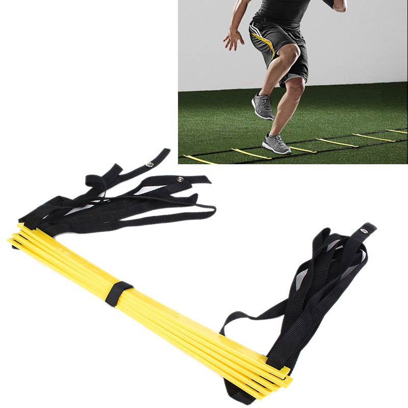 5 Rung 10 Feet 3m Agility Ladder For Soccer Speed Fitness