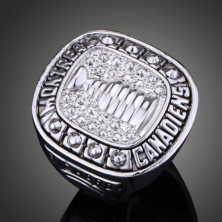 Freeshipping NHL Montreal Canadiens Ice Hockey Champion Ring Without Rhinestone Sport Jewelry Drop Shipping