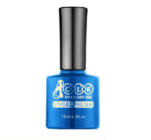 Free Shipping Hot Sale Color 1000 Base Coat and Top Coat Gel Polish 6 pcs lot