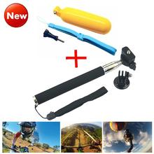 Go pro Accessories  monopod with tripod mount + Handler Floating hand grip bobber for gopro hero 4 3+ 2 sj4000 sport Camera LD12