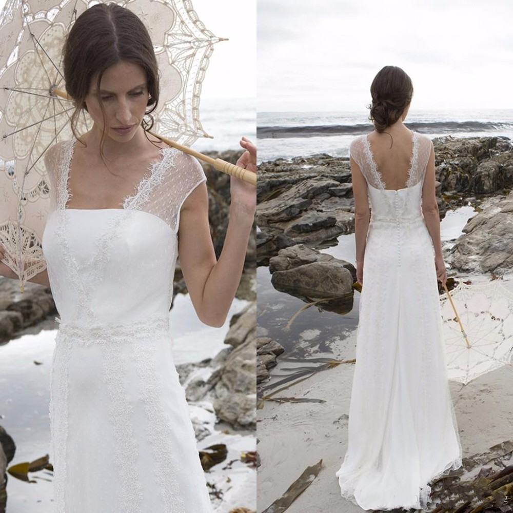Ivory Greek Goddess 2017 Ivory Bohemia Wedding Dresses: Romantic 2016 New Bohemia Style White Ivory Tulle Cap