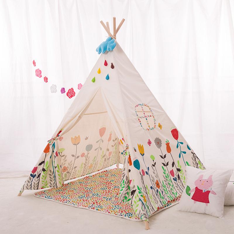 teepee enfants bricolage jeu enfants maison de jeu jouet. Black Bedroom Furniture Sets. Home Design Ideas