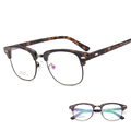 Retro All Match Ultralight Fashion TR90 Square Glasses Frame AC Clear Lens Eyeglasses 2016 Fashion Shades