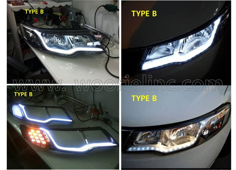 forte kia headlight mod eyeline tunning parts led. Black Bedroom Furniture Sets. Home Design Ideas