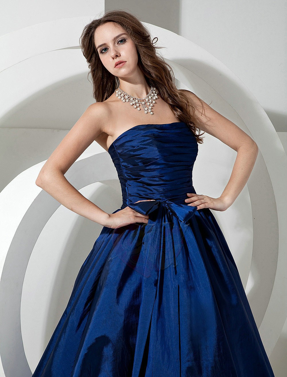 Simple Best selling Fashion Ball gowns sweetheart Long ...