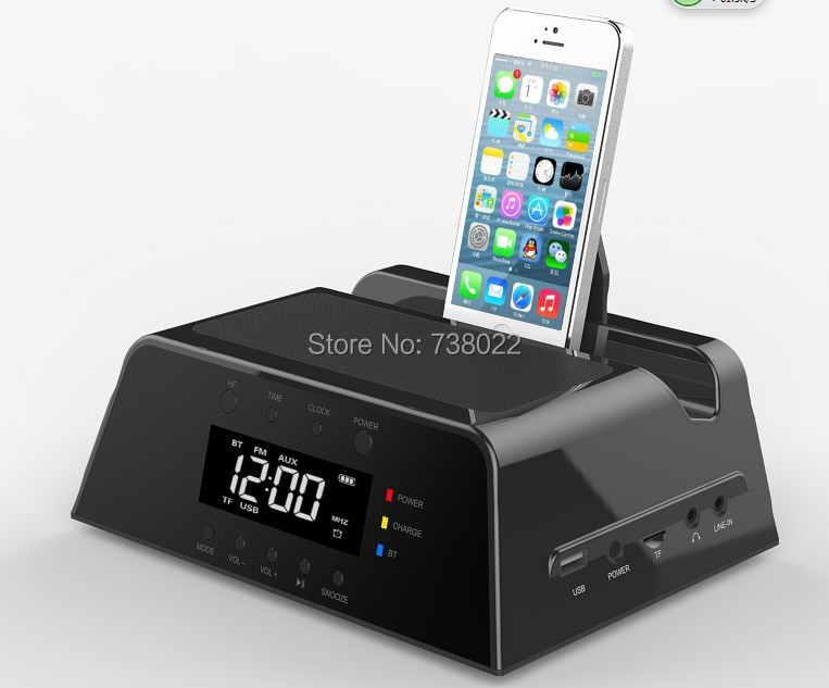 Iphone  Alarm Clock Charging Station
